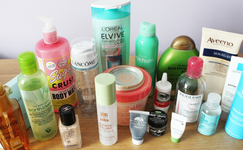 May Product EmptiesNo.3