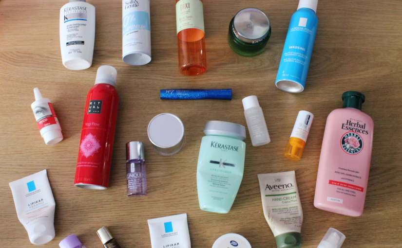March Product Empties2018