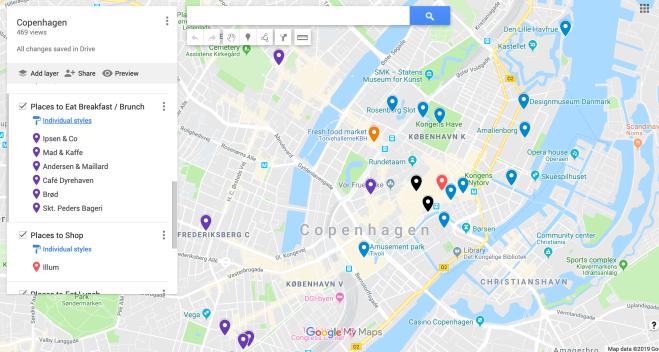 Google Pins