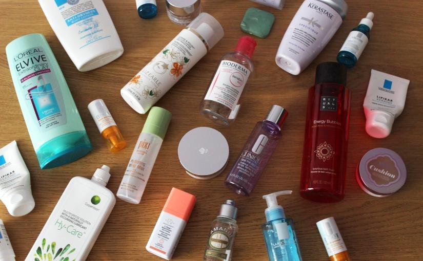 June Product Empties'19