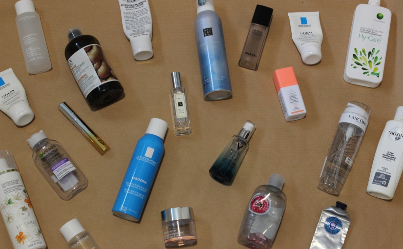 January Product Empties20′